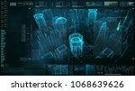 advance motion graphic... | Shutterstock . vector #1068639626