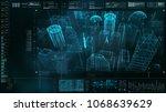 advance motion graphic... | Shutterstock . vector #1068639629