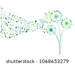 blue aquamarine green vector... | Shutterstock .eps vector #1068653279