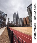 Small photo of Chicago, IL - February 28th, 2018: Lake Shore Park in Streeterville is making efforts to return the park to the community after removing softball fields and replaced them with grass last year.