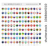 round pin icons of all world... | Shutterstock .eps vector #1068664310