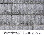 block background material | Shutterstock . vector #1068722729
