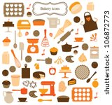 icons  symbols and graphic... | Shutterstock .eps vector #106872773