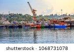port blair  andaman  india ... | Shutterstock . vector #1068731078