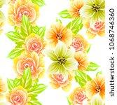 abstract elegance seamless...   Shutterstock .eps vector #1068746360