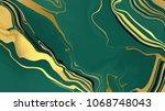 vector marble texture design.... | Shutterstock .eps vector #1068748043