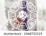 technician builders engineers... | Shutterstock . vector #1068752219