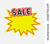 badge seal icon vector sign... | Shutterstock .eps vector #1068756149