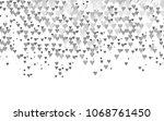 light silver  gray vector... | Shutterstock .eps vector #1068761450
