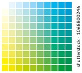 cmyk color chart to use in... | Shutterstock .eps vector #1068800246