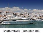 june 23  2014. luxury boats at... | Shutterstock . vector #1068834188