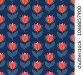 scandinavian geometric simple... | Shutterstock .eps vector #1068857900