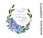 template for congratulations or ... | Shutterstock . vector #1068859976