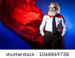 a man against the background of ... | Shutterstock . vector #1068869738