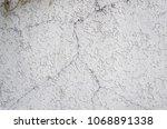 concrete wall surface texture... | Shutterstock . vector #1068891338