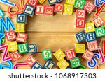close up arrangement of...   Shutterstock . vector #1068917303