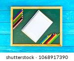close up arrangement of pencil...   Shutterstock . vector #1068917390