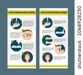 design of the brochure. how to ... | Shutterstock .eps vector #1068928250