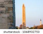 istanbul   november 25  obelisk ... | Shutterstock . vector #1068932753