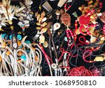 jewelry necklaces   vintage... | Shutterstock . vector #1068950810