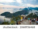 rio de janeiro  brazil  ... | Shutterstock . vector #1068956468