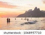 rio de janeiro  brazil  ... | Shutterstock . vector #1068957710