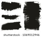 paint roller background high... | Shutterstock .eps vector #1069012946