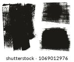 paint roller background high... | Shutterstock .eps vector #1069012976