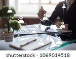 target audience. targeting.... | Shutterstock . vector #1069014518