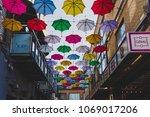 dublin  ireland   april 14th ... | Shutterstock . vector #1069017206