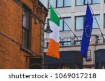 dublin  ireland   april 14th ... | Shutterstock . vector #1069017218