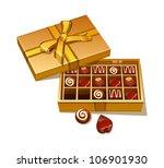 vector icon chocolate