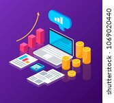 online analytics. statistics....   Shutterstock .eps vector #1069020440