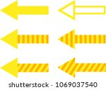 set of filled  striped and... | Shutterstock .eps vector #1069037540