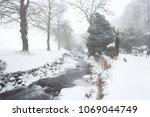 river okement in winter... | Shutterstock . vector #1069044749