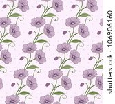elegant seamless vector pattern ... | Shutterstock . vector #106906160