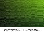 light green vector pattern with ... | Shutterstock .eps vector #1069065530