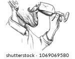 vector illustration of a... | Shutterstock .eps vector #1069069580