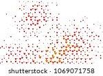 dark red  yellow vector... | Shutterstock .eps vector #1069071758