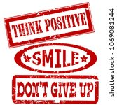 motivation and positive... | Shutterstock .eps vector #1069081244