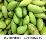 close up of fresh green mangos... | Shutterstock . vector #1069082150