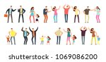 family and professional... | Shutterstock .eps vector #1069086200