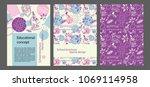 microscope  plant cell  scheme... | Shutterstock .eps vector #1069114958