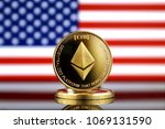physical version of ethereum ... | Shutterstock . vector #1069131590