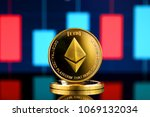 physical version of ethereum ... | Shutterstock . vector #1069132034