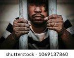 hands of men desperate to catch ...   Shutterstock . vector #1069137860