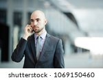 contemporary businessman in... | Shutterstock . vector #1069150460