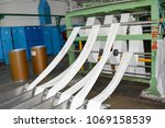 production process for the... | Shutterstock . vector #1069158539