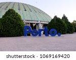 porto  portugal  april 8  2018  ... | Shutterstock . vector #1069169420