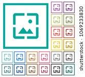 wallpaper image flat color... | Shutterstock .eps vector #1069233830